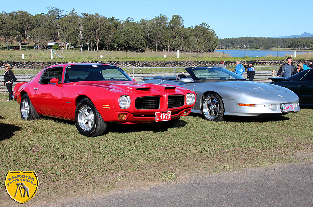 Mike & Leanne - 73 and 95 Firebirds
